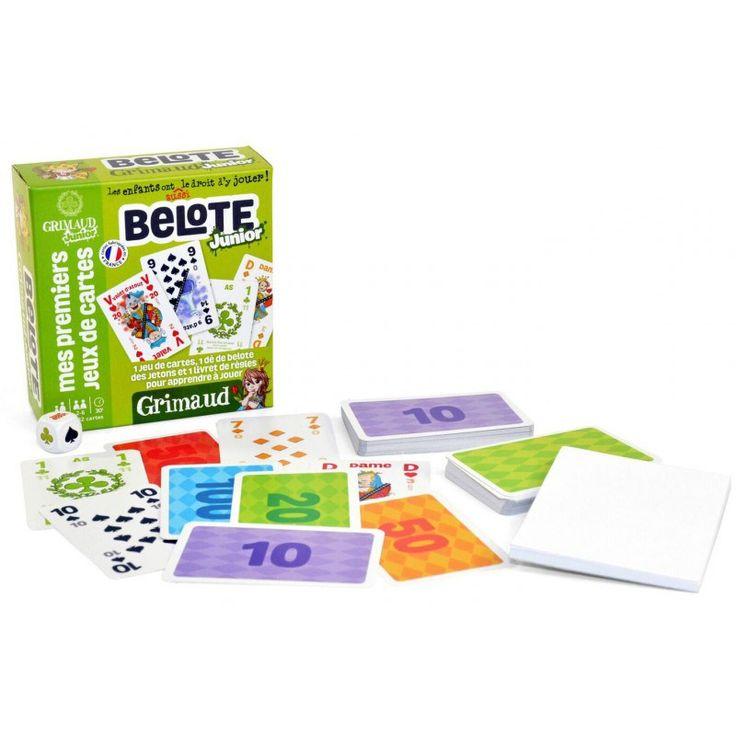 Jouer aux cartes en famille - Belote, Tarot, Rami, Bataille - Jeux GRIMAUD
