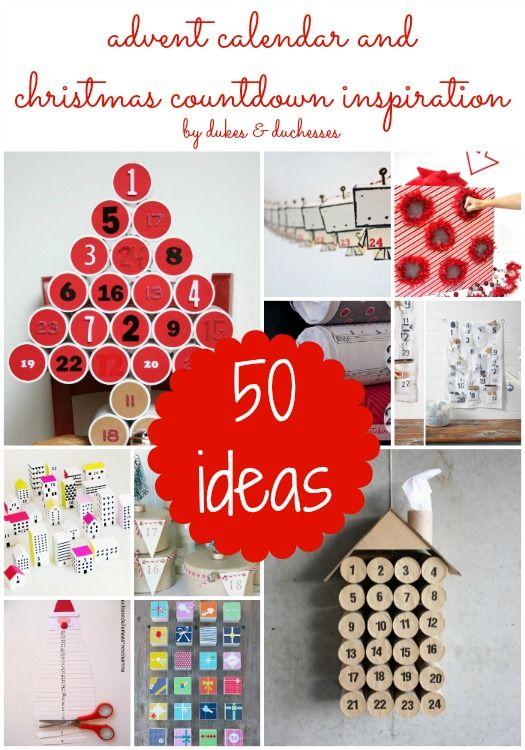 Christmas Calendar Ideas Ks : Advent calendar and christmas countdown inspiration