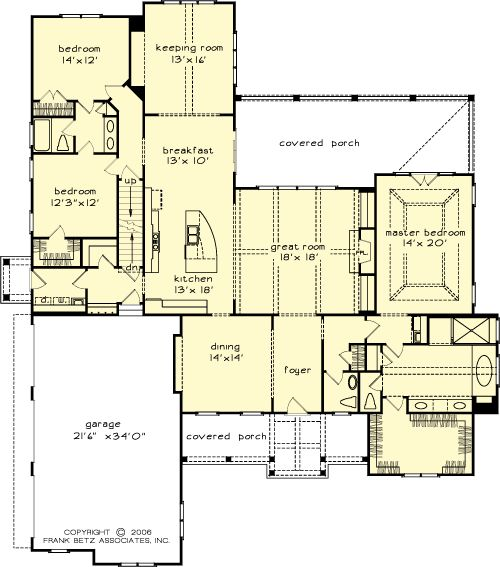 images about Floor plans on Pinterest   House plans  Square    The Magnolia Springs House Plans First Floor Plan   House Plans by Designs Direct  DDWEBDDFB