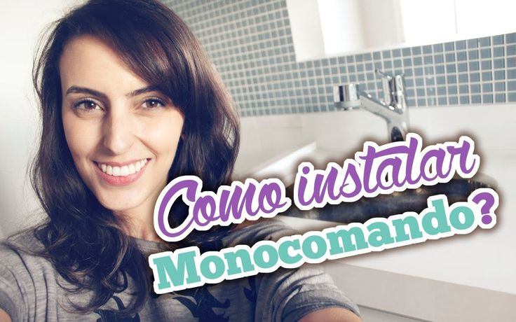 Como instalar torneira monocomando (Hansgrohe) - por Bruna Dalcin