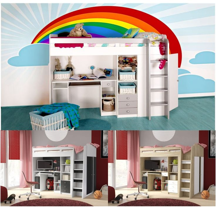 Home furniture sale. Thinking about buying Kids Combo Mid Sl... Check it out here http://discountsland.co.uk/products/kids-combo-mid-sleeper-with-desk-wardrobe-book-shelf?utm_campaign=social_autopilot&utm_source=pin&utm_medium=pin #furnituresale #discountsland