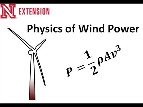 Wind Power Physics:  Thinking of installing a wind turbine? You'll need to know these basics or you'll be wasting money, time and resources- YouTube