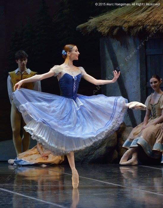 Svetlana Zakharova in La Scala's Giselle. © 2015 Marc Haegeman. All Rights Reserved