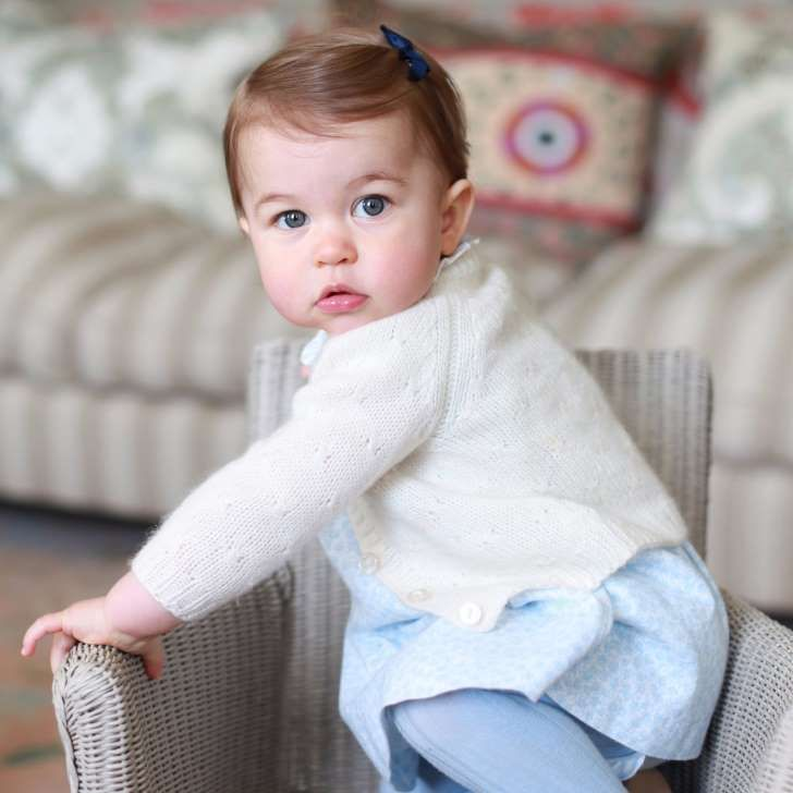 "Proof That Princess Charlotte Is the Spitting Image of Queen Elizabeth: <p>The past year has been full of milestones for Princess Charlotte. Since <a href=""http://www.popsugar.com/celebrity/Royal-Baby-First-Appearance-Pictures-2015-37396143"">becoming fourth in line to succeed the throne</a> in May 2015, Charlotte has experienced her christening and first public appearance at Trooping the Colour, and most recently, she embarked <a…"