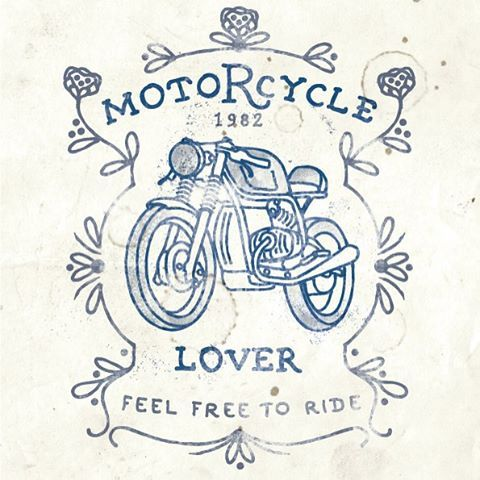 this #caferacer artwork is now the label on our all natural mechanic soap discover #motomood