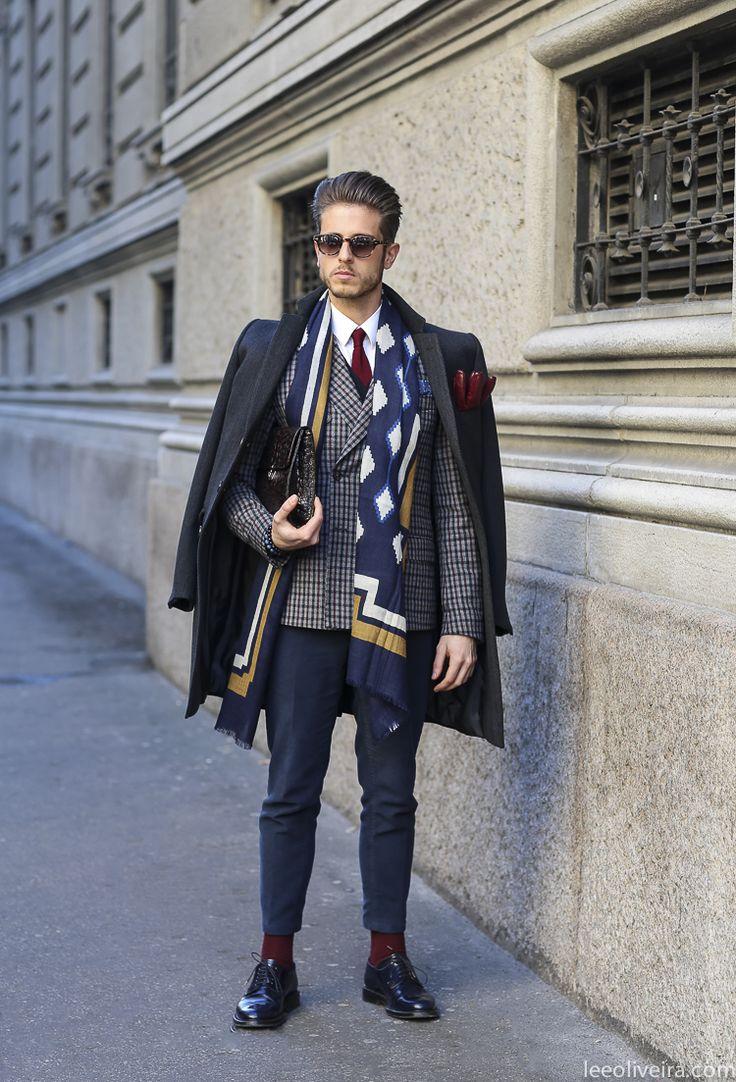 High fashion mens clothing