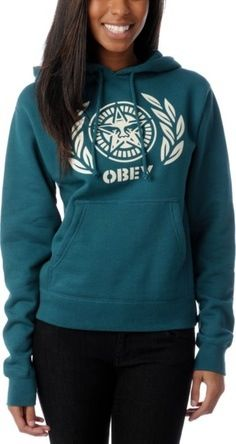obey clothing for girls obey hoodie teal pullover