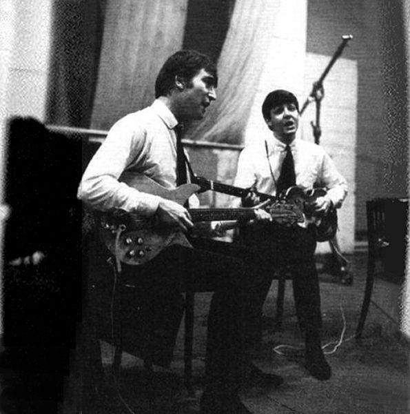 Great John u Paul EMI Studios Abbey Road September