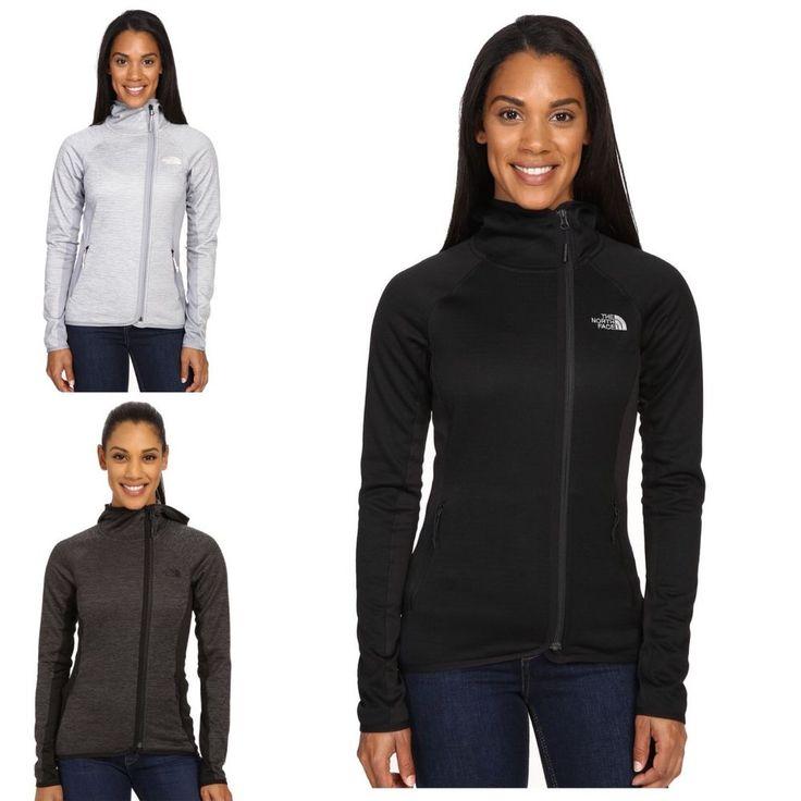 THE NORTH FACE Sale NWT Arcata Hoodie Fleece Jacket Zip Coat Black Grey Green #TheNorthFace #BasicJacket