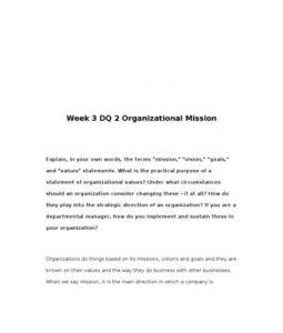 HCA421 / HCA 421 / Week 3 DQ 2