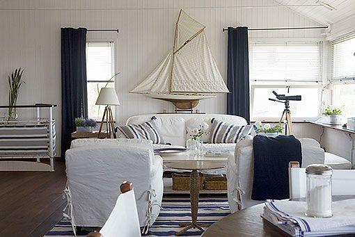 Ideas para recrear el estilo marinero decoratrix - Salones diseno italiano ...