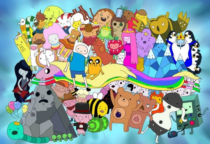 adventure time wallpaper all characters Google Search