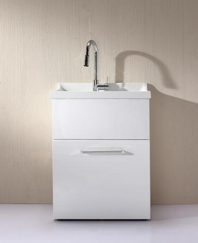 All In One Laundry Sink Cabinet : All In One Utility Sink With Pull-Out Faucet Included (Similar to sink ...