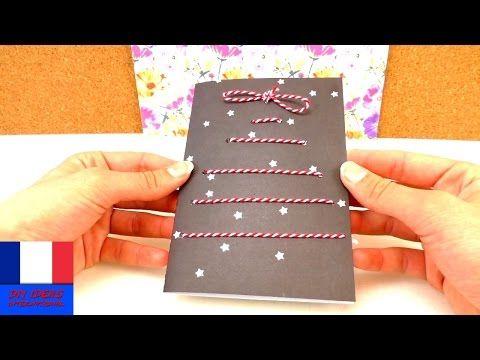 Faire soi-même une carte de Noël / DIY carte de voeux / Fêtes de fin d'année - YouTube