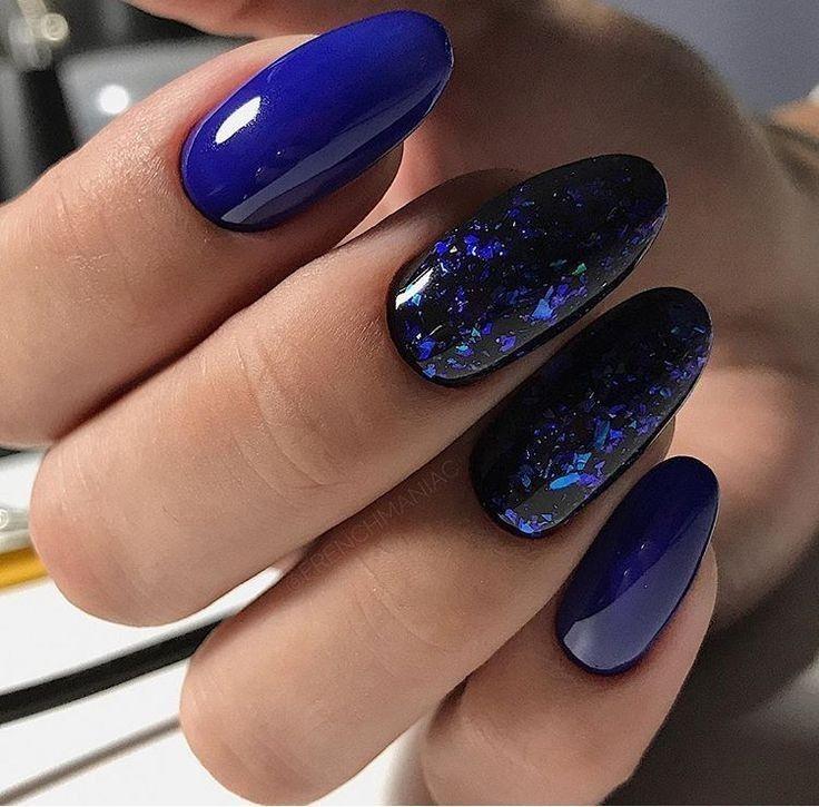 J Nail Polish 022 Navy Blue 6 Count Pack Of 2 Walmart Com Blue Nails Nail Designs Manicure