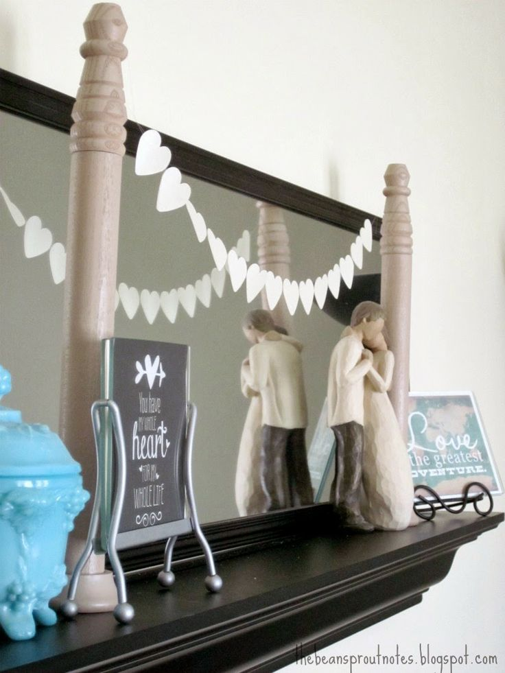 Build it! Wooden Display Stands for Miniature Garland and Buntings. A DIY Tutorial