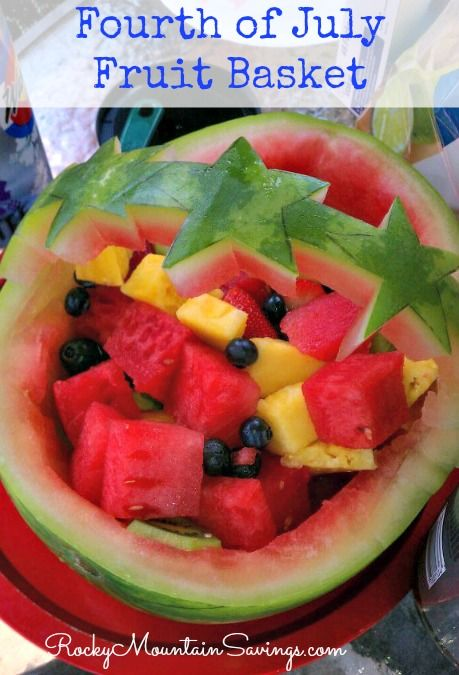 Fruit is one of my favorite things to eat in the summer. My mom taught me how to make these super cute watermelon bowls for a fruit basket. You can do all kinds of designs, but I did stars for the 4th of July. You can use any fruit you like, but my favorites are: …Read more...