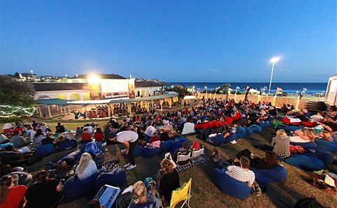 Doesn't get better than a sunny evening at Bondi Open-Air cinema