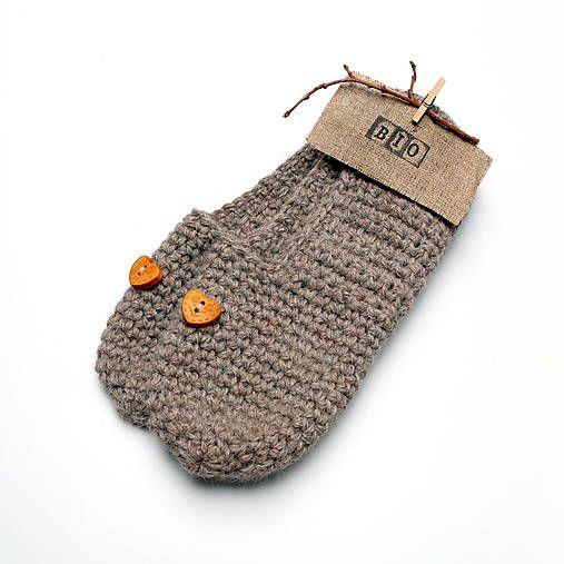 BioHandmade / Bio papučky s drevenými srdiečkami