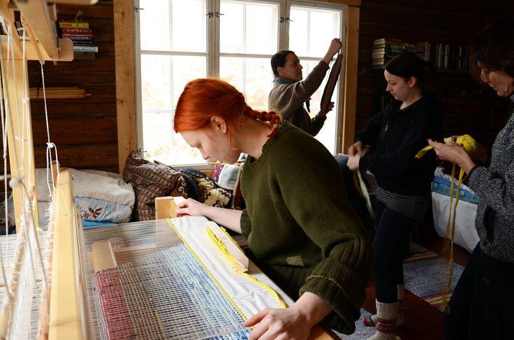 3-päiväinen esitutkimusretki Nuolniemessä #muutosmuotoilijoilla ei ole peukalo keskellä kämmentä