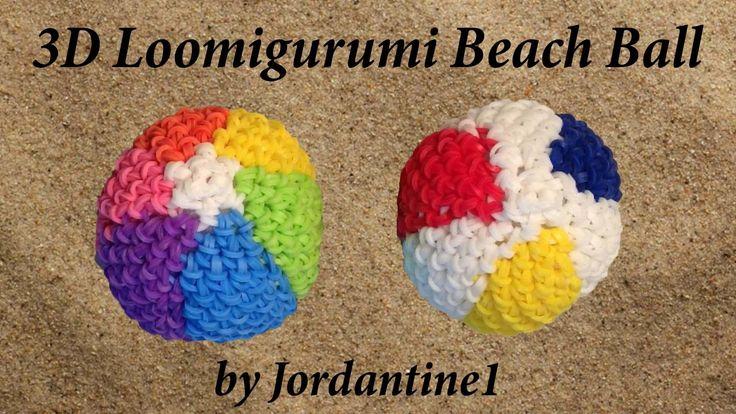 Amigurumi Ball Instructions : New Loomigurumi. Amigurumi Beach Ball - Rubber Band ...