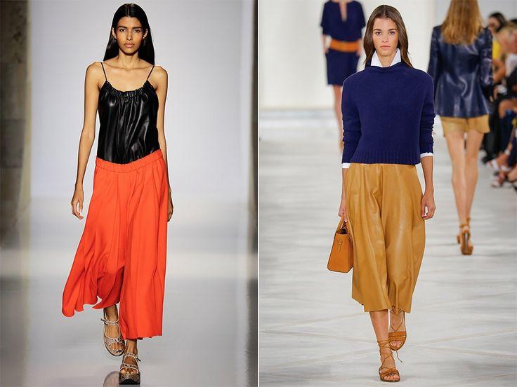 Укороченные брюки: Victoria Beckham, Ralph Lauren