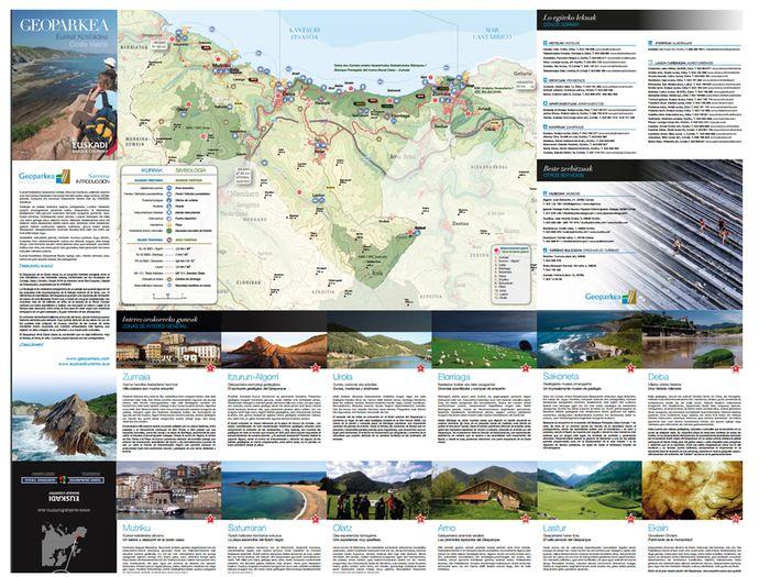 Folleto Turístico - Geoparkea - Flysch & Karst experience