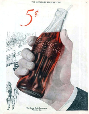 1922... Before my time...butI remember how good a little glass bottle of Coke tasted. And it was much better than Plastic or cans.