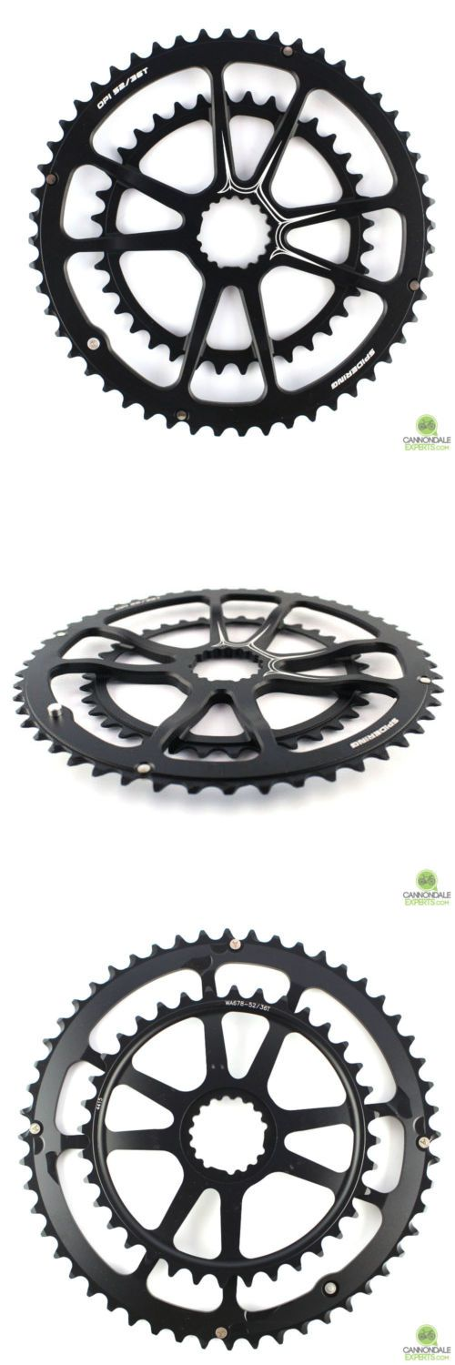 Chainrings and BMX Sprockets 177811: Cannondale Spidering 8 Arm Mid-Compact 52 36T Kp408 -> BUY IT NOW ONLY: $180 on eBay!