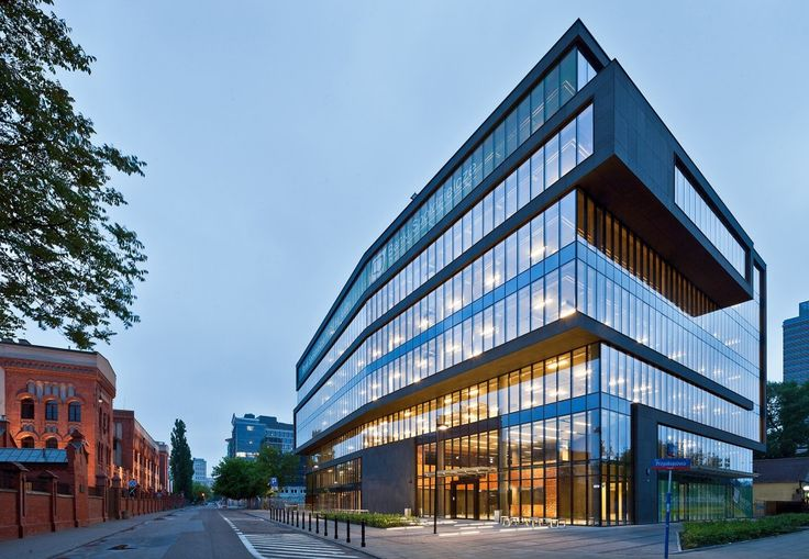 Office Building at Grzybowska Street / Grupa 5 Architekci