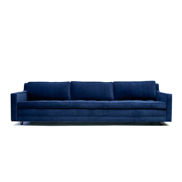 Midnight Blue Living Room: Midnight Blue Couch