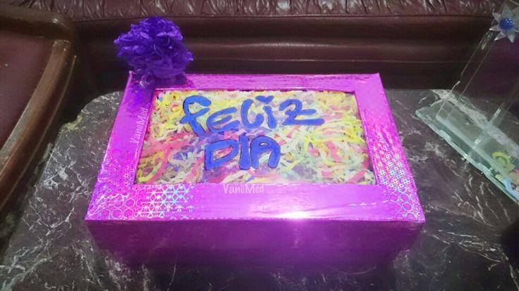 Caja de dulces #amor y #amistad #diy #magic #box
