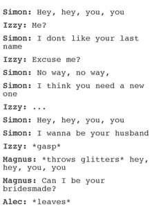 Omgosh #TheMortalInstruments (How To Get Him To Propose Life)