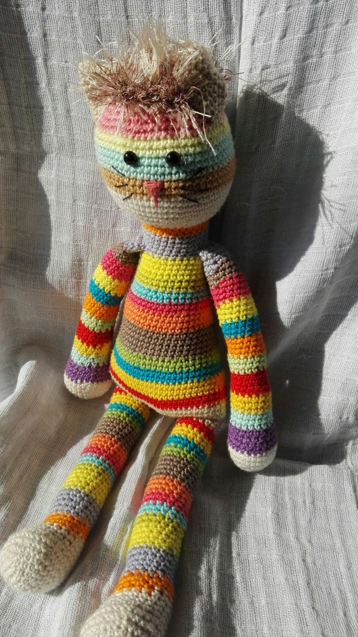 amigurumi crochet cat