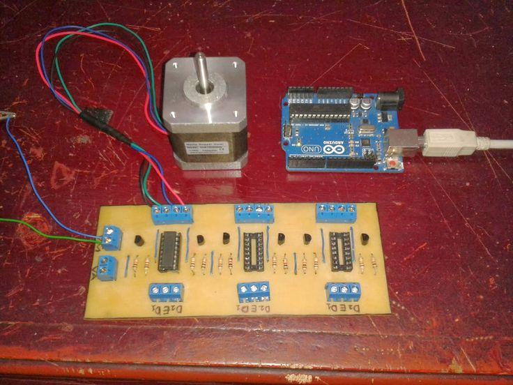 DESCRIPCIÓN:     Para el proyecto final de este blog, se realizara un controlnuméricopor computadora capaz deintegrar motores paso a pas...