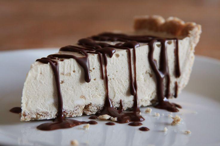 Coffee Cheesecake Ice Cream Pie | Espresso and Cream EASY recipe.  sounds great for right NOW!