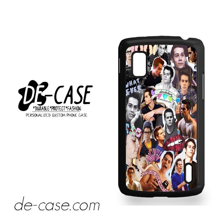 Dylan O'brien Photo Collage For Google Nexus 4 Case Phone Case Gift Present YO