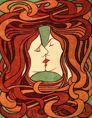 Peter Behrens The Kiss 1898