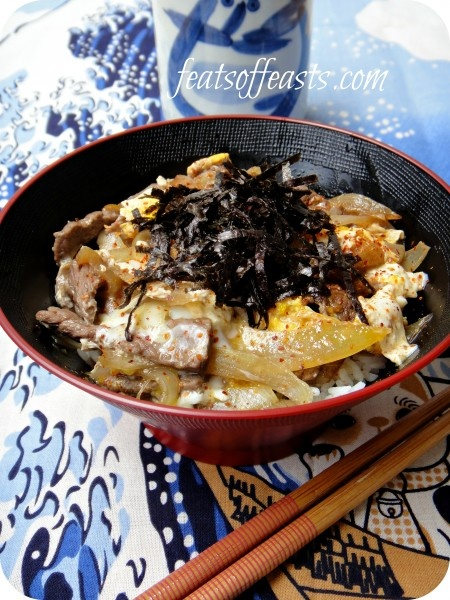 gyudon (Beef Rice Bowl) | Asian food | Pinterest