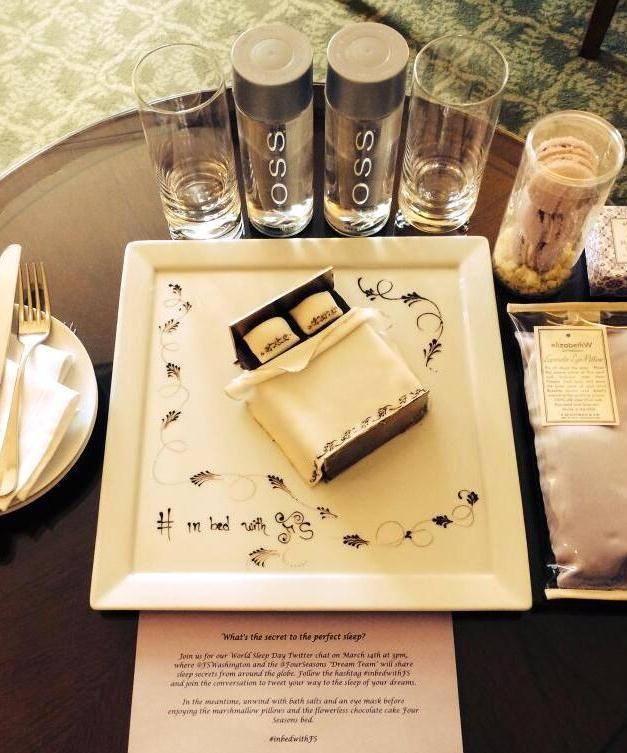 Sleep has never looked so sweet as this @Mandy Bryant Bryant Dewey Seasons Hotel Washington, DC treat.