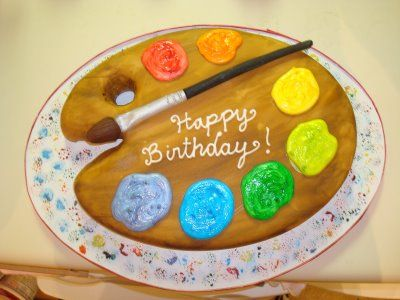 11 best Artist cake images on Pinterest Artist cake Cakes and