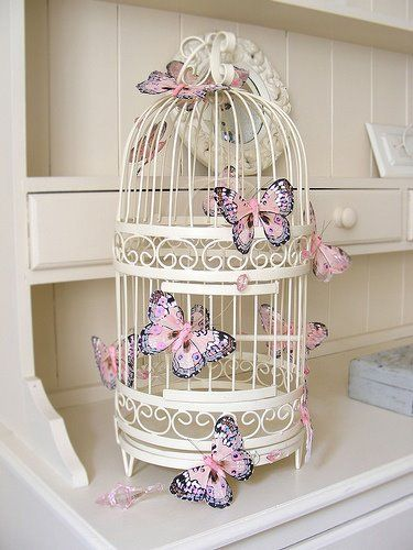 My Little Treasures: Deco: Jaulas decorativas/ Deco: decorative Cages.