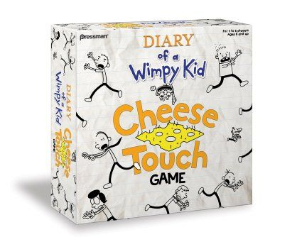 Diary of a Wimpy Kid: The Cheese Touch Game - Move your mover - either Greg, Rowley, Fregley, Rodrick, Holly Hills or Manny - around the game board. Depending on where you end up, you'll be playing different categories. Correct answers move you closer to finish. But wrong answers can give you the cheese. Try to get rid of it as fast as you can.