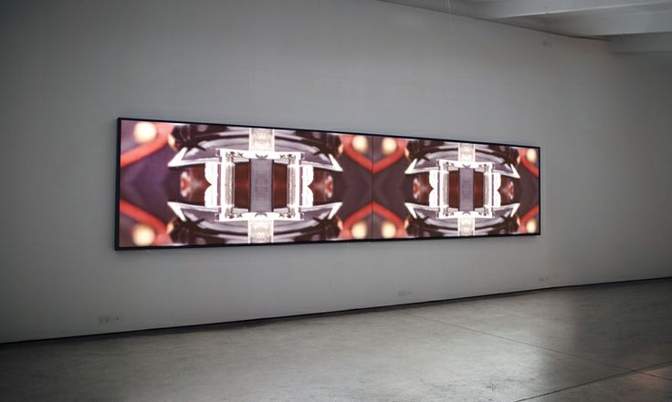 Baden Pailthorpe, Very Few Good Men, (installation view, Martin Browne Contemporary), 2012, HD video, 2 mins, Courtesy the artist, Martin Browne Contemporary Sydney and Prudential Eye Awards