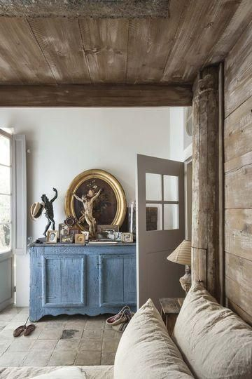 Contemporary French country style, as it's done in France today, is a lot more pared down than many people would expect.