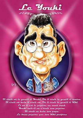 caricature de Richard Gotainer