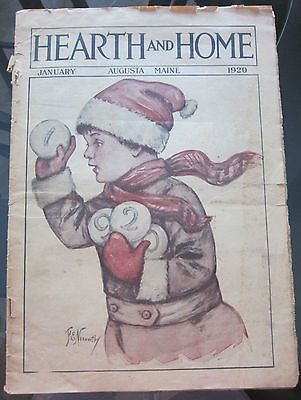 January 1920 Hearth & Home magazine 29 Pages Ads Articles Fashions  Extra   eBay