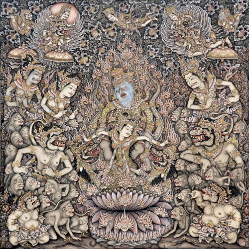 I Ketut Madra - Sita Satya - Bali painting