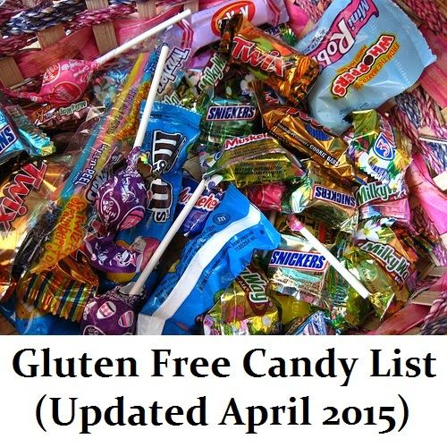 #GlutenFree Candy List (Updated April 2015) Perfect for after Easter