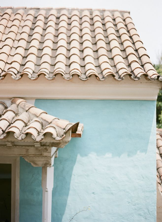 Tile Roof in Cartagena Colombia